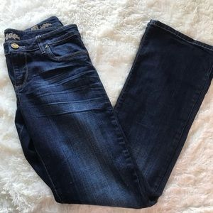 Kut from the Kloth farrah style size 6 dark wash